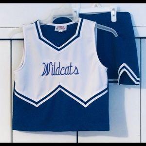 Cheerleading Uniform Royal Blue